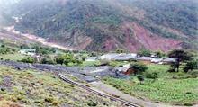 भारी बारिश से दरकी पहाड़ी, प्रशासन ने खाली करवाया लाहड़ी गांव
