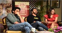 ''उजड़ा चमन'' के पोस्ट रिलीज प्रमोशन के लिए दिल्ली पहुंची स्टारकास्ट,...