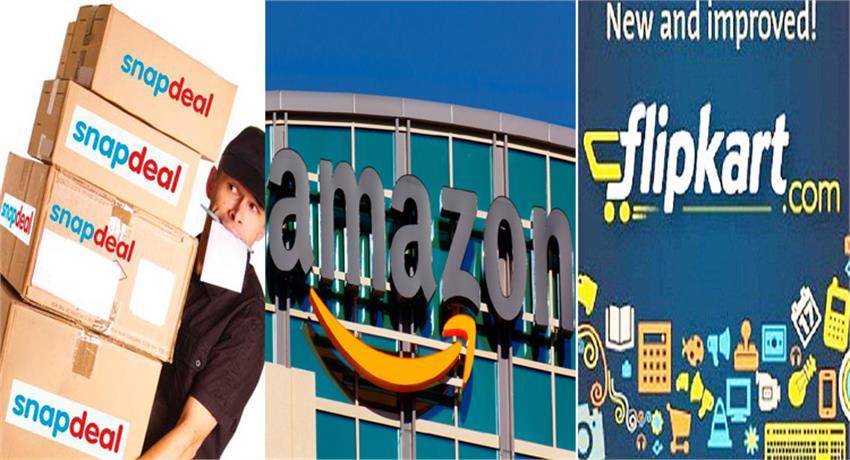 ecommerce-market-flipkart-snapdeal-powerful-challenge-to-amazon