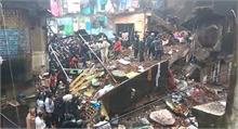 भिवंडी में इमारत गिरने से मरने वालों की संख्या 8 पहुंची