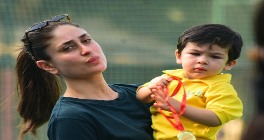 kareena kapoor khan teaches son taimur pottery shares video jsrwnt