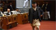 नेपाल के प्रधानमंत्री के पी शर्मा ओली ने पद से इस्तीफा दिया