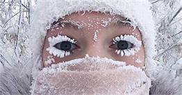 रूस की रूह कपां देने वाली ठंड का खूबसूरत नजारा देखिए इन तस्वीरों में