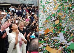 मेलबर्न के स्वतंत्रता दिवस पर रानी मुखर्जी ने फहराया तिरंगा