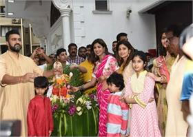 बॉलीवुड के सितारों ने कुछ इस अंदाज में किया गणपति बप्पा को विदा
