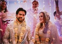 जन्मों-जन्मों के लिए एक हुए वरुण-नताशा, यहां देखें Wedding Pics