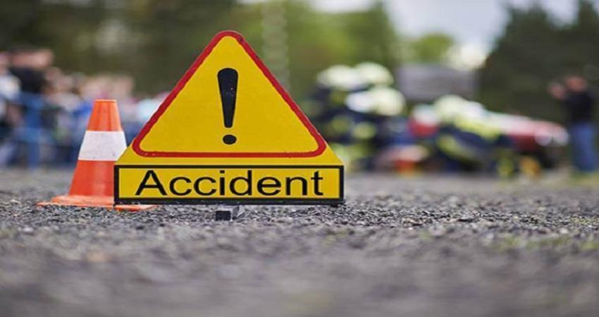 गाड़ी के नाले में गिरने से एक 1 की मौत, 2 घायल
