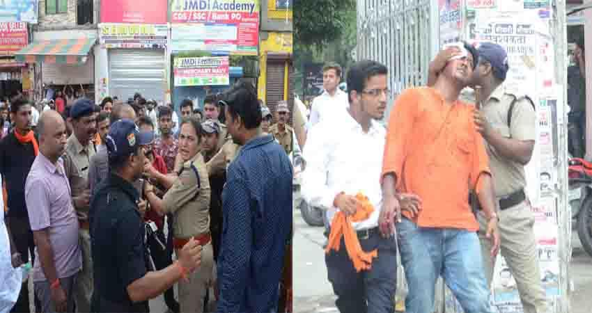 dehradun-in-dav-college-abvp-had-bloody-clash-with-rebel-group-fighting-and-stone-pelting