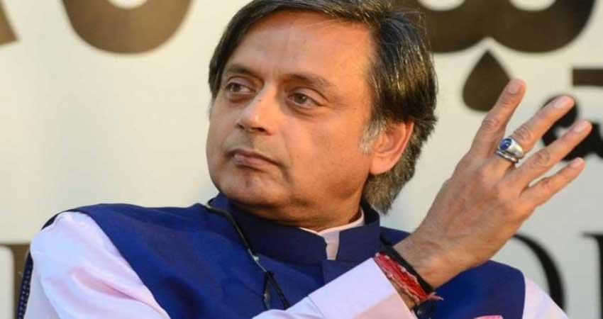 congess shashi tharoor hindu pakistan quote