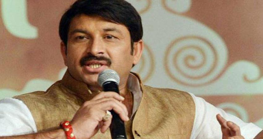 Manoj Tiwari say BJP will build 60 smog towers in Delhi after coming to power