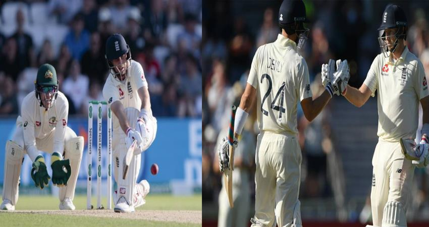 eng vs aus root and denali become hope for england australia need 7 wickets to win