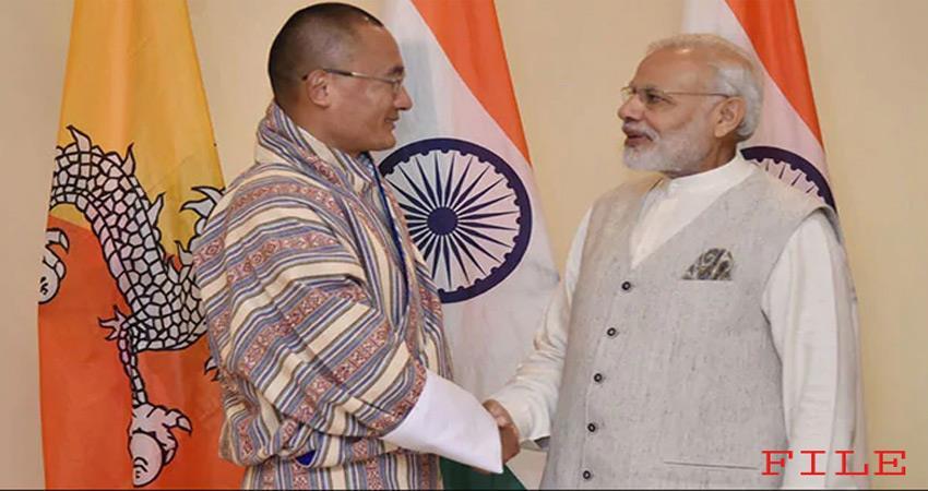 bhutan prime minister shering praises pm modi said good friend to india