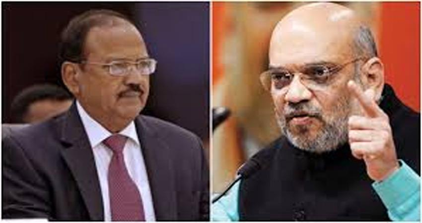 important meeting of amit shah on kashmir issue many top officials present
