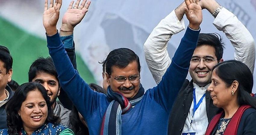 aap work on guarantee card immediately as soon as delhi kejriwal government