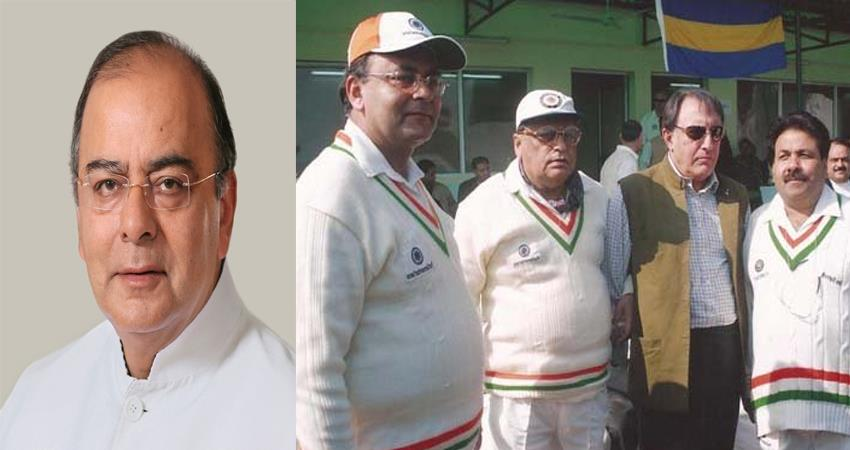 Arun Jaitley was very fond of cricket played an important role for DDCA and BCCI