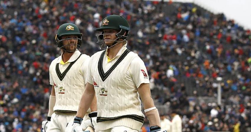 ashes series australia score big total in first innings with the help of smiths double century