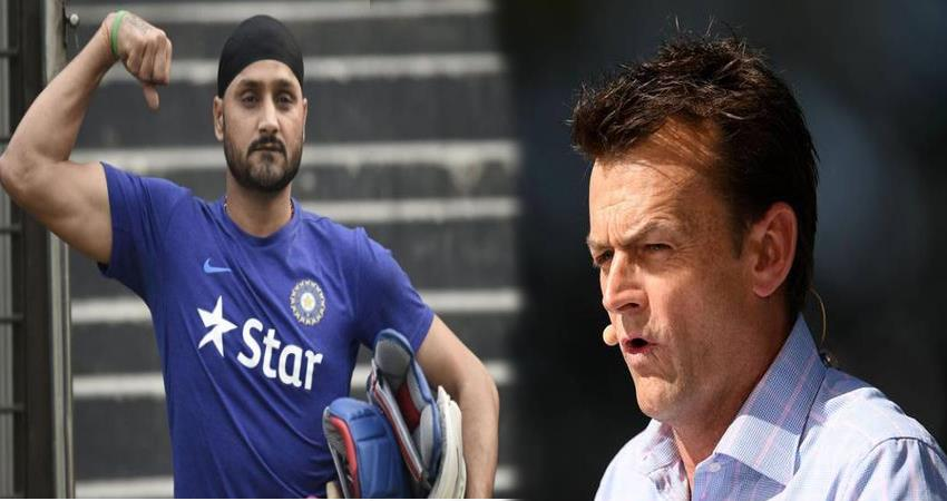 on his hat trick harbhajan shutting down the gilchrist mouth said stop crying