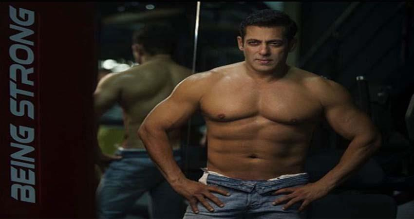 the story behind salman khan being shirtless sosnnt