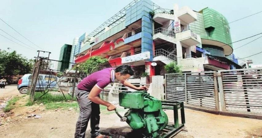 diesel generator ban in delhi-ncr from 15th october pollution control kmbsnt
