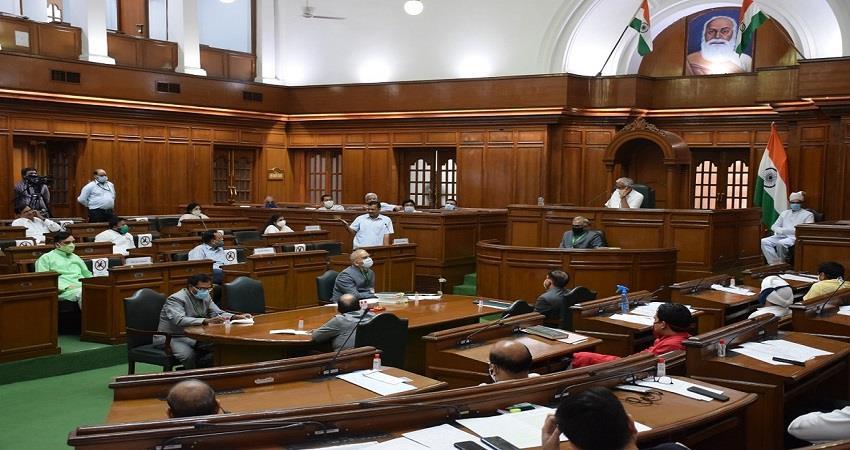 delhi assembly session cm kejriwal statement on corona test in delhi kmbsnt
