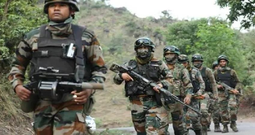 encounter search operation between security forces and terrorists continues in pulwama sohsnt