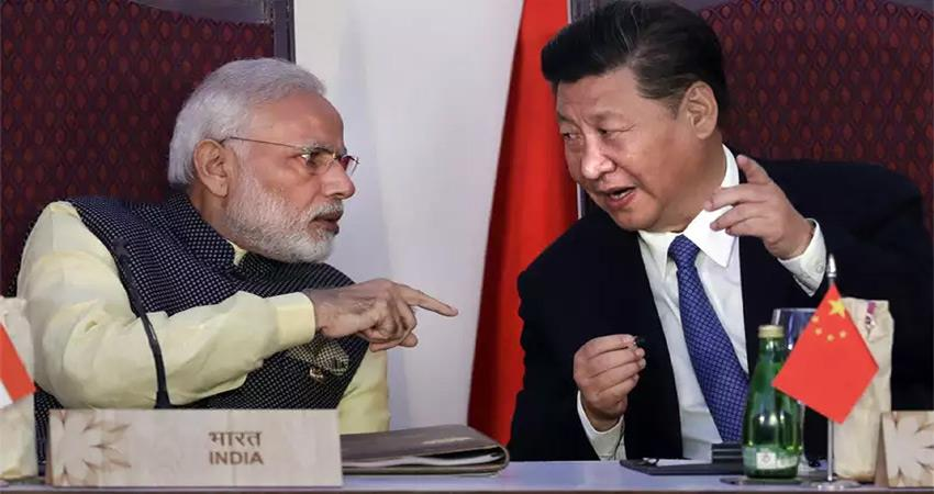 CHINA China and India are not a threat to each other