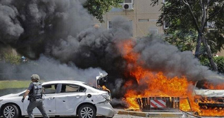 an indian woman killed in the ongoing rocket war between israel and hamas anjsnt