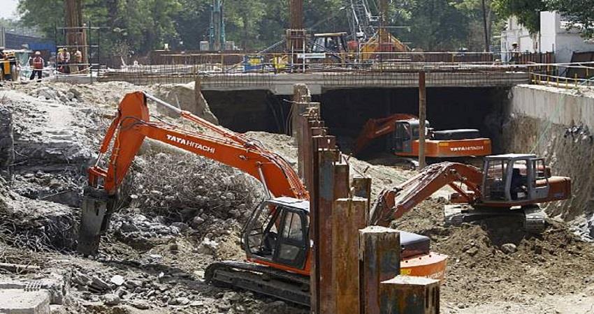 DMRC Delhi Metro Construction work Pollution Control KMBSNT
