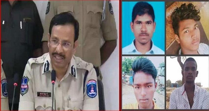 hyderabad gangrape four accussed police encounter