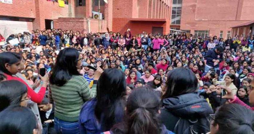 delhi high court hear on gargi college incident
