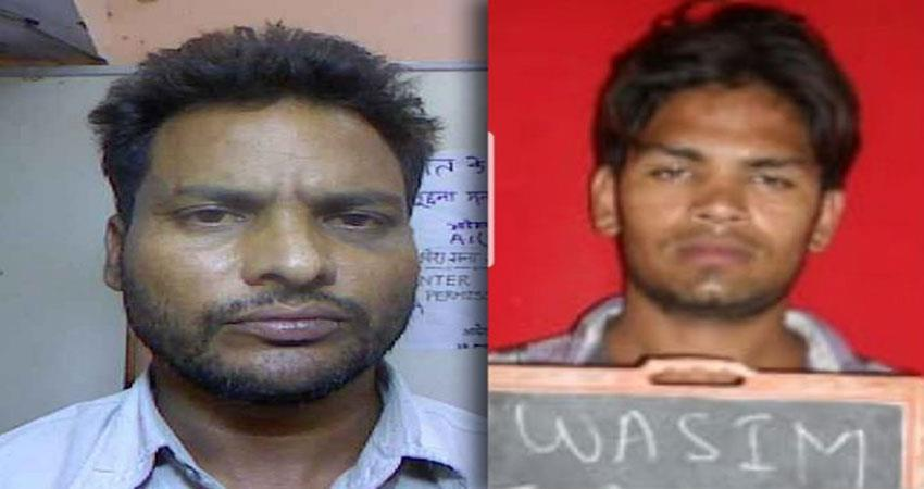 two criminals are arrested after an encounter between police and criminals in ghazipur