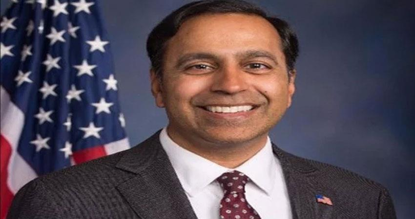 indian american mp krishnamurthy appeals to biden 60 million vaccine doses sent to india anjsnt