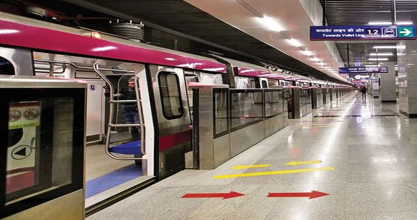 delhi metro pink line grey line metro new project inauguration on august 6 kmbsnt
