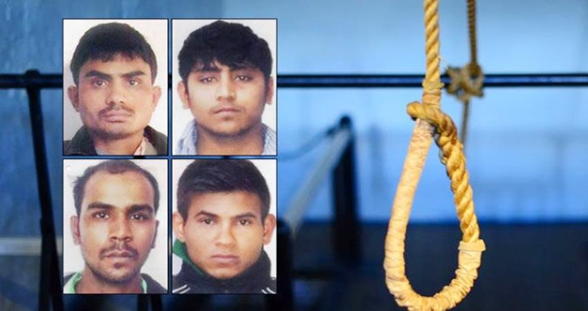 nirbhaya case all options of convicts exhausted death warrant to be heard today