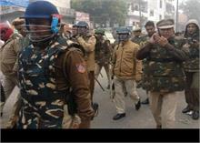 CAA Protest: सीलमपुर छावनी में तब्दील, पुलिस सतर्क