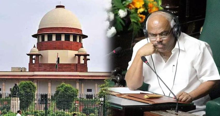 sc hearing on disqualified mla petition in karnataka today