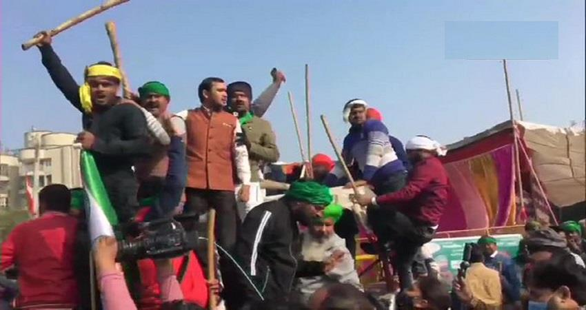 100 days completed of farmers protest will jam kmp express way today kmbsnt