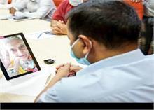 LNJP में वीडियो कॉल के जरिए परिजन जान सकेंगे कोरोना मरीजों का हाल