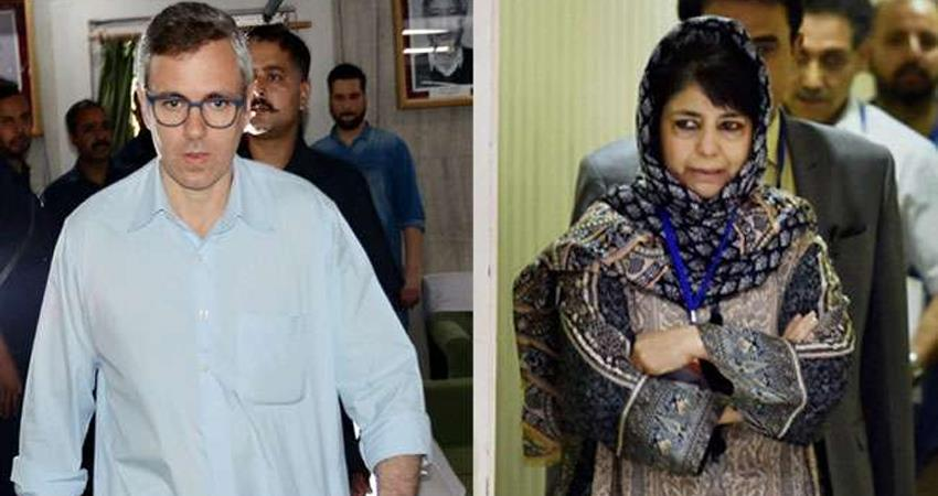 jammu and kashmir omar and mufti brought to delhi by special aircraft