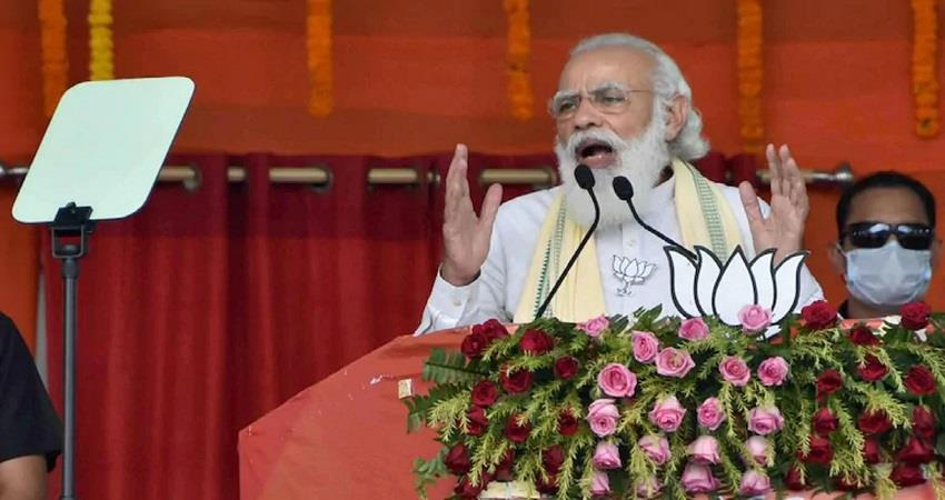pm modi to address a public rally at brigade parade ground in kolkata today kmbsnt