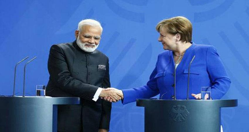 narendra modi angela merkel india germany s jaishankar