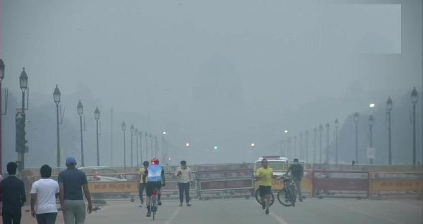 Delhi Pollution Stubble Burning Air Quality Index KMBSNT