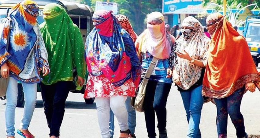 delhi weather updates record breaking temperature increased kmbsnt