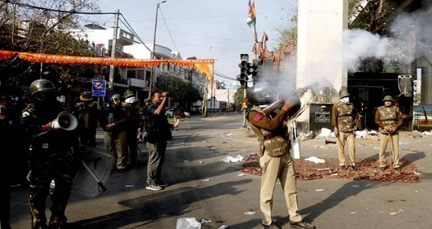 road blocks during delhi riots sign of conspiracy delhi police chargesheet kmbsnt