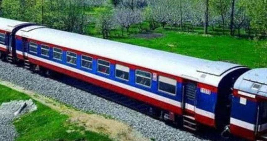 normal conditions are prevailing in kashmir, rail service starts from today
