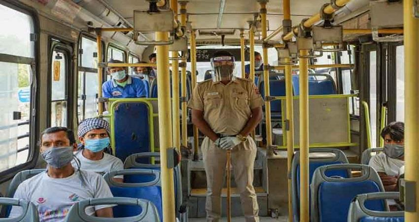 contact less ticket  will now be applicable in all buses of delhi kmbsnt