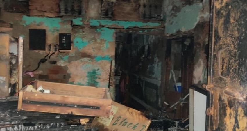 4 killed 1 injured in gas cylinder blast in farsh bazar shahdara delhi  kmbsnt