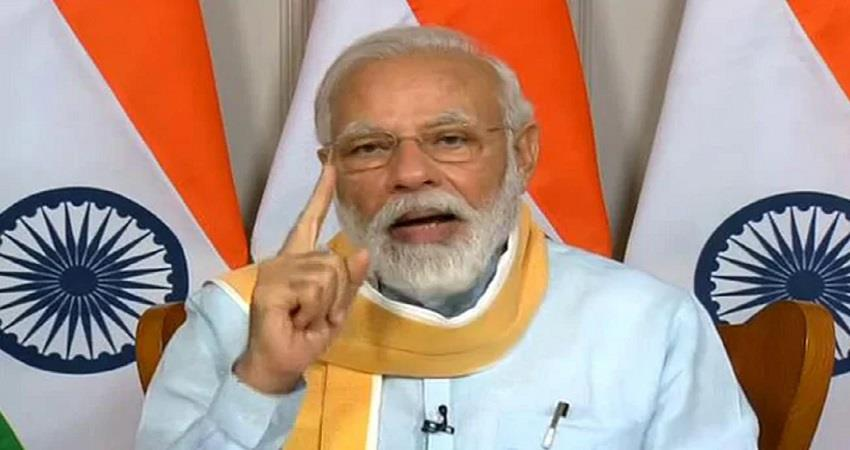 pm modi appeal for vaccination national tika utsav to begin from today kmbsnt