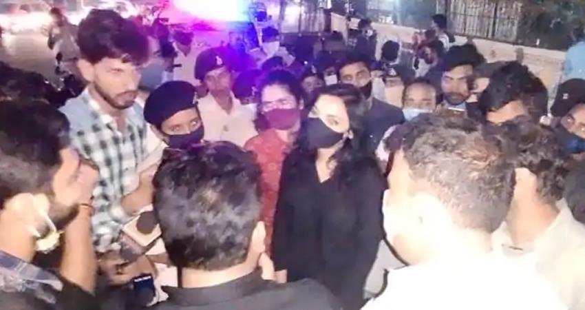 bihar-election-2020-cm-candidate-pushpam-priya-chaudhary-arrested-prshnt