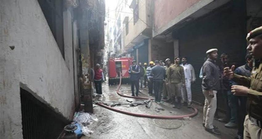 delhi fire 44 people die commissioner laugh at conference